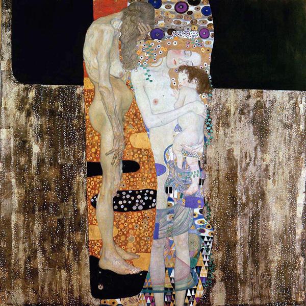 G. Klimt, Le tre età della donna,1905