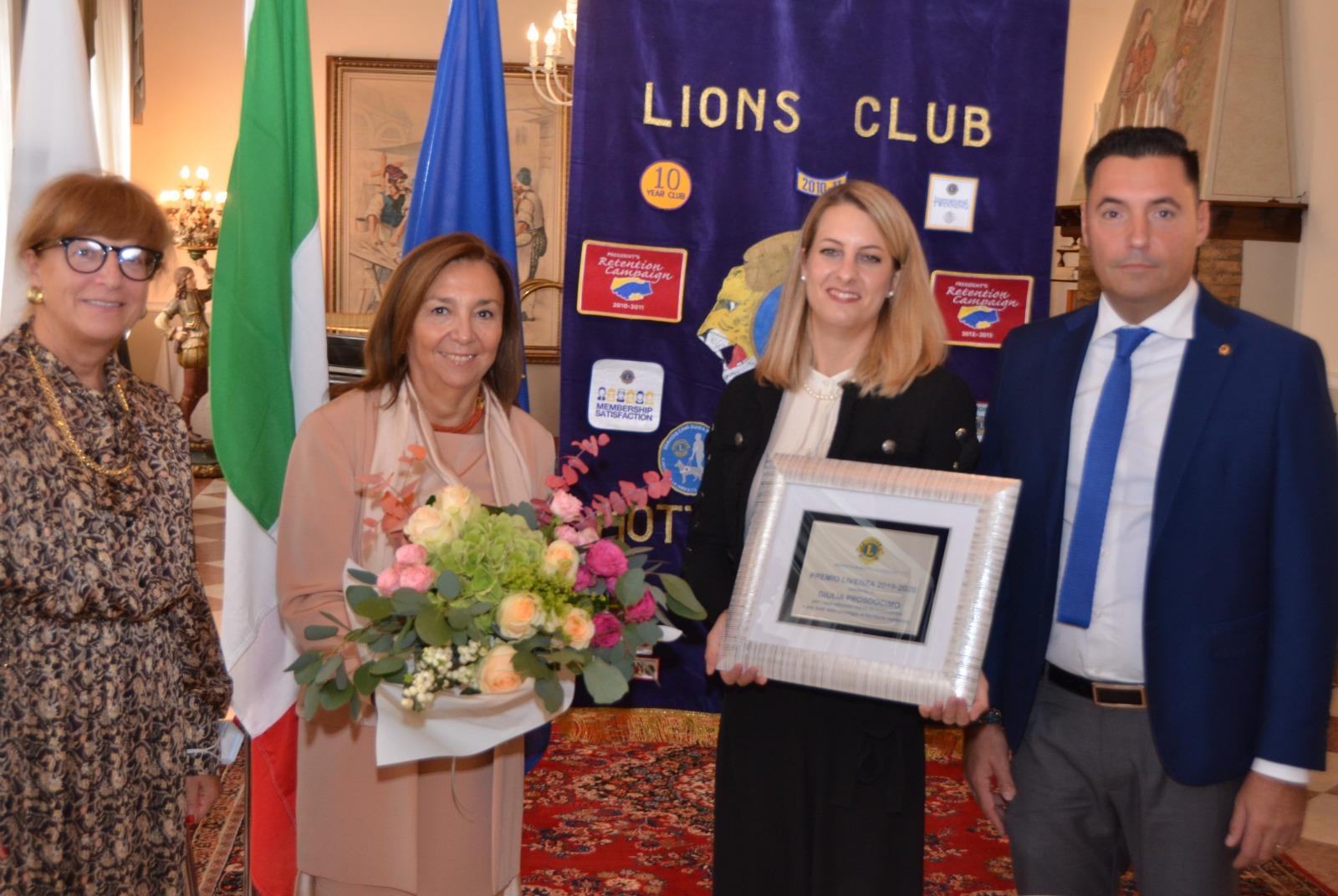 Premio Livenza 2020 – Lions Club di Motta di Livenza