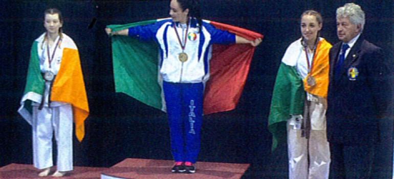 Alessia Parinetto, campionessa mondiale di karate