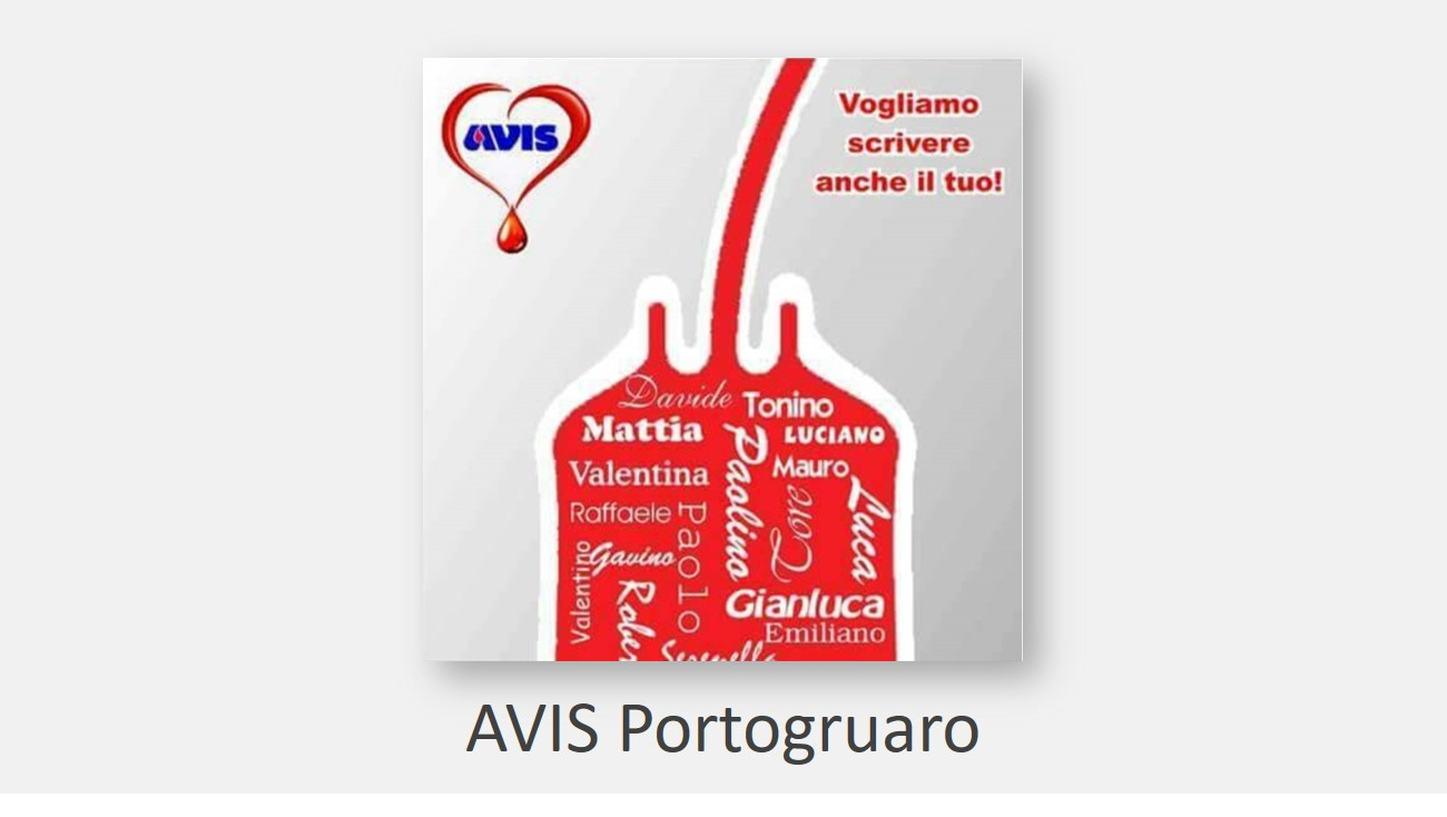 Donare sangue è donare vita
