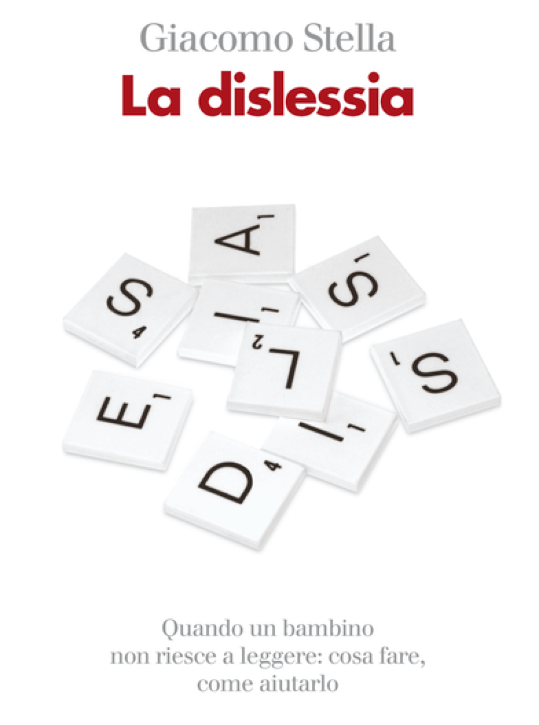 Particolare di copertina del libro di G.Stella,  La dislessia, Il Mulino, Bologna, 2004