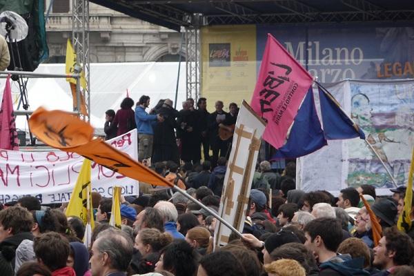 """Il """"Marco Belli"""" contro la mafia."""