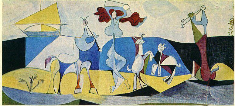 Picasso, La joie de vivre